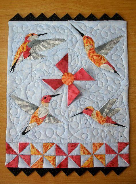 1172 besten Applique Quilts Bilder auf Pinterest | Patchwork ...
