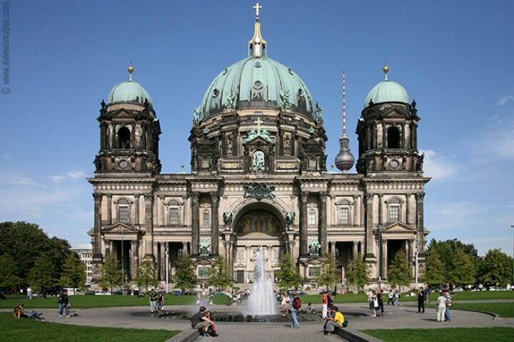 The #BerlinerDom - #BerlinCathedral, #Berlin, Germany.