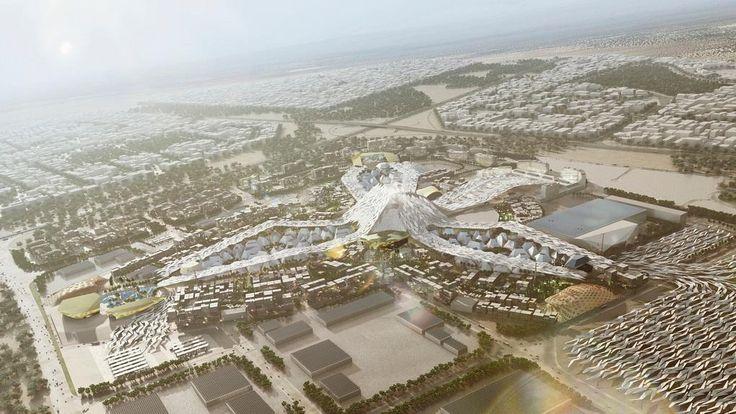 Генеральный план EXPO 2020 в Дубаи-2