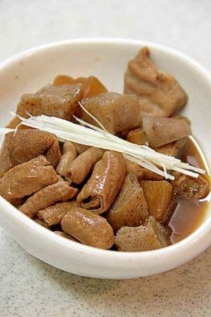 醤油ベースで少し変わった味付け『もつ煮』 レシピ・作り方 by ...