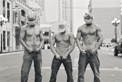 3 sexy cowboys