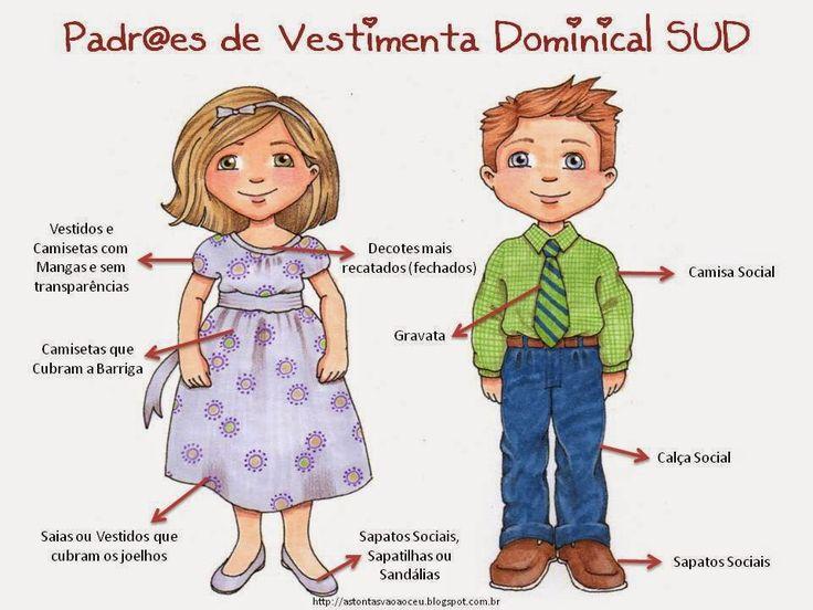 As Tontas Vão Ao Céu: Carta para Pais da Primária - Sobre Padrões de Vestimentas Dominicais