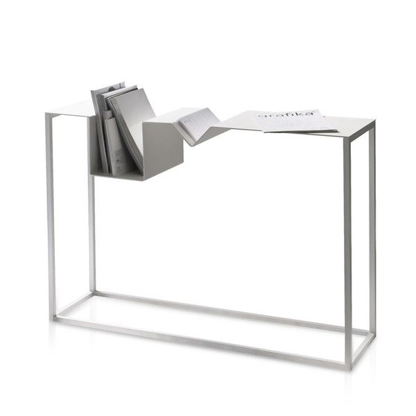 Shelter 183 Zig Zag Console With Metal Base Shaw Street