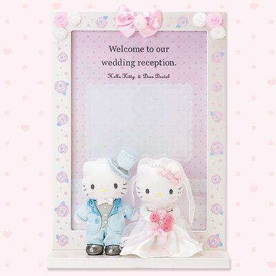 Hello-kitty-Wedding-Welcome-board-from-JAPAN