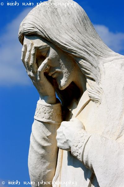 Jesus Wept - Statue outside the OKC Bombing Memorial