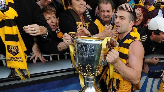 Meet and Greet with Hawthorn FC star Brian Lake and the AFL Premiership Cup!