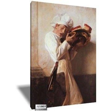 Ο Ζαχαροπλαστης, Νικόλαος Γύζης | Καμβάς, αφίσα, κορνίζα, λαδοτυπία, πίνακες ζωγραφικής | Artivity.gr