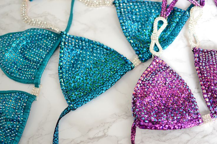 How to sew and rhinestone your own fitness competition bikini