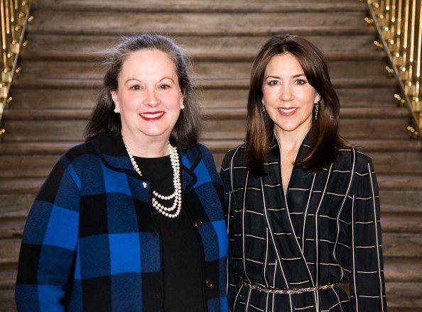Crown Princess Mary met with Dr. Sarah Degnan Kambou