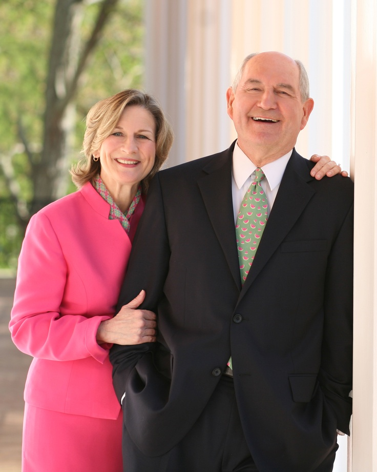 Governor Sonny Perdue an wife Miss Mary.  81st Governor of Georgia 2003-2011  Influential business man who among being Governor for two terms has built many successful businesses and influenced the lives of many young people including myself.  A family man, a business leader, philanthropist, and a close family friend.