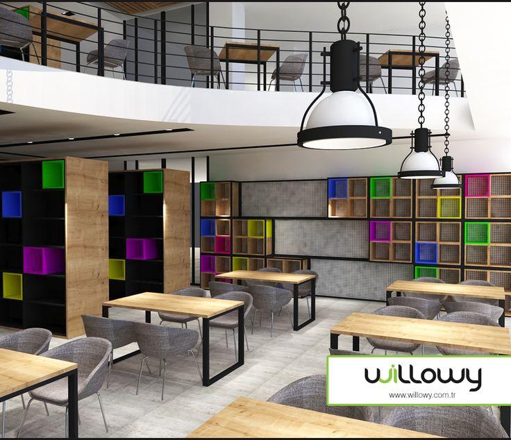 #okul #willowy #ofis #mobilya #sandalye #masa #ders #kütüphane #library #school #kitaplık #kitap