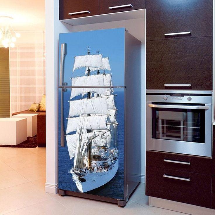 Fototapeta na lodówkę - Żaglowiec   Fridge wallpaper - Sailing Ship   51,60PLN #fototapeta #fototapeta_lodówka #dekoracja_lodówki #wystrój_kuchni #dekoracja_kuchni #żaglowiec #statek_dekoracja #photograph_wallpaper #fridge_wallpaper #fridge_decor #fridge_design #kitchen_decor #kitchen_design #sailing #ship #ship_decor #design #decor #sailing_ship
