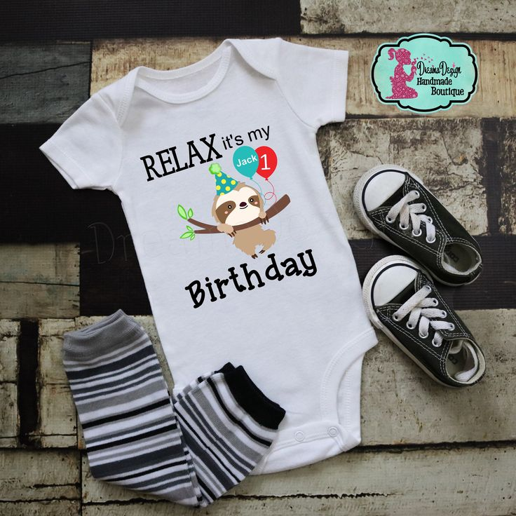 Sloth 1st Birthday Shirt Boho Birthday Boy sloth shirt