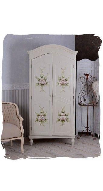"""Kleiderschrank Weiß Landhausstil Gebraucht ~ Über 1000 Ideen zu """"Kleiderschrank Landhausstil auf Pinterest"""