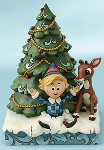 Jim Shore - Rudolph the Red-Nosed Reindeer - Rudolph and Hermey Christmas