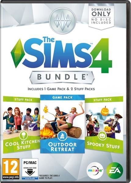 ($28)This product requires you to have The Sims 4 base game activated on your Origin account in order to play. Sims Bundle Pack 2 includes: The Sims