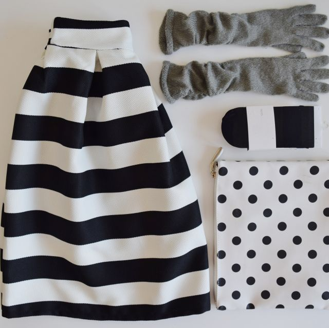stripes and dots