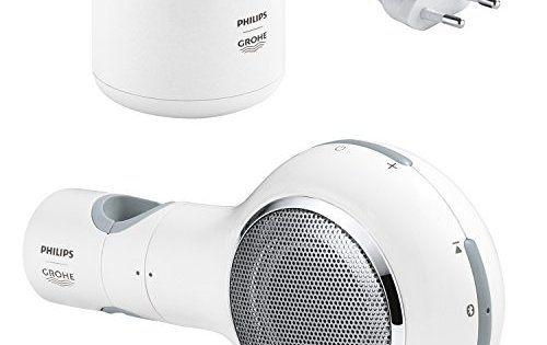 GROHE Enceinte Bluetooth Sans Fil/Étanche Aquatunes 26268LV0 (Import Allemagne): Enceinte connexion bluetooth sans fil à connecter avec…