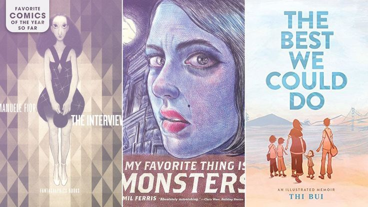 From war-torn South Vietnam to the apartment of supernatural stoners to a psychedelic plane of reality inside a laundry machine, the best comic books of 2017 (thus far) have taken readers to some fascinating places. The A.V. Club has assembled a list of the can't-miss titles from the first half of t