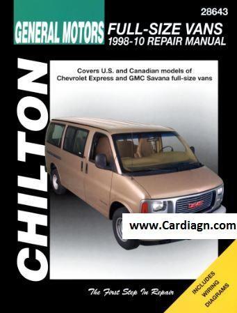 Best 25 chilton repair manual ideas on pinterest duck pizza 1998 2010 general motors full size vans chilton repair manual fandeluxe Images
