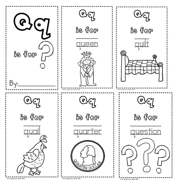 Best Letter Qq Images On   Letter Of The Week Abcs