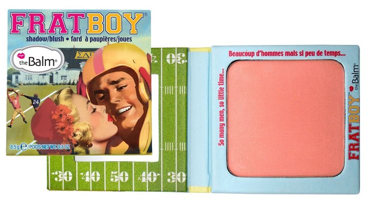 theBalm Frat Boy Blush Link to application video: http://youtu.be/AvXV9XKlaLc