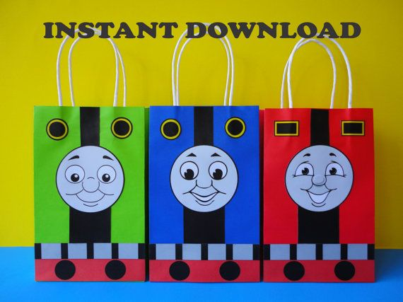 Instant Download Thomas and Friends Party by CreativePartyStudio