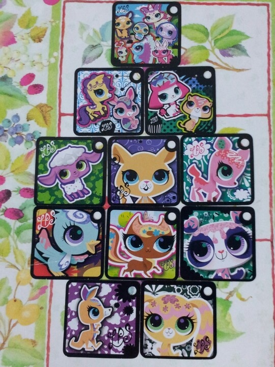All 11 Lps Tokens That I Own My Virtual Pets On Lps