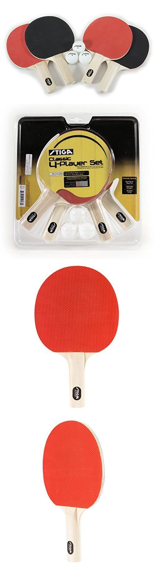 Paddles 36277: Table Tennis Rackets 4 Player Ping Pong Bat 3 Balls Racket Paddle Sport Set -> BUY IT NOW ONLY: $49.8 on eBay!
