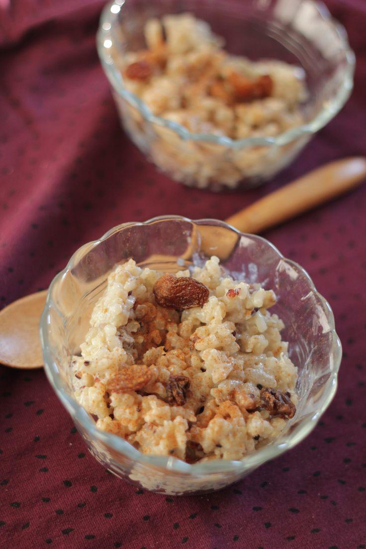 Wat is het grootste probleem als je rijst maakt? Juist je houdt altijd rijst over, omdat je altijd te veel rijst maakt. Ik heb meestal het idee dat er te weinig rijst in de pan zit als ik het erin …
