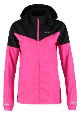 VAPOR - Sportsjakke - hot pink/black/reflective silver