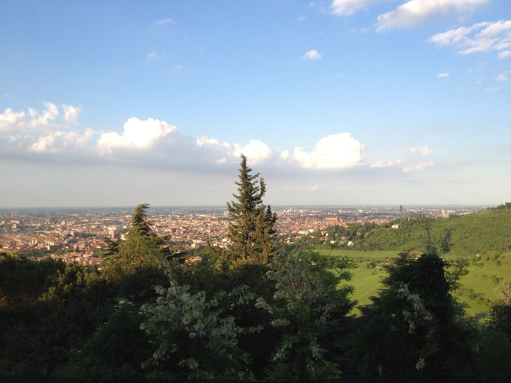 "Views from San Luca, Bologna- ""The walk to Madonna di San Luca"" by @journeytom"