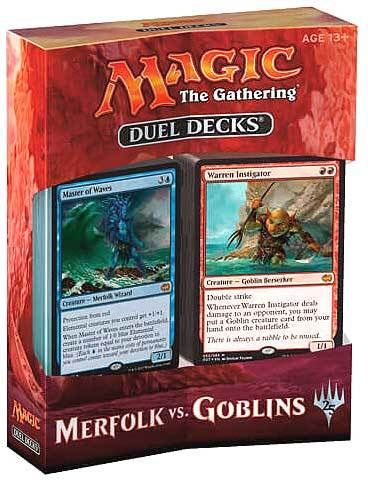 MTG - Duel Decks Merfolk vs Goblins