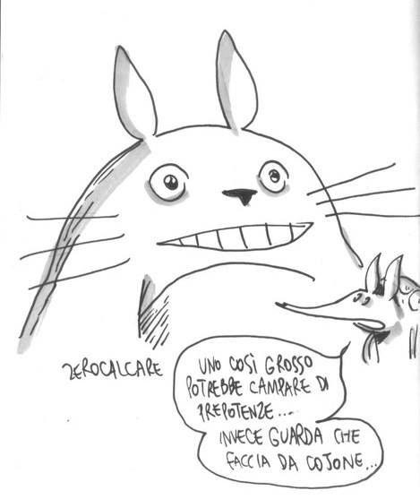 Zerocalcare, Armadillo e Totoro
