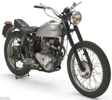 Triumph Trophy TR5 from Happy Days