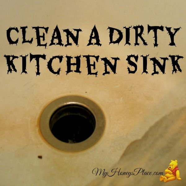How Clean Is The Kitchen Sink