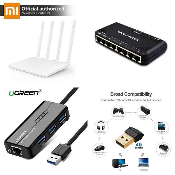 Ugreen Usb Ethernet Adapter Usb 3 0 2 0 Network Card To Rj45 Lan For Windows 10 Xiaomi Mi Box 3 Nintend Switch Ethernet Usb Wireless Router Networking Router