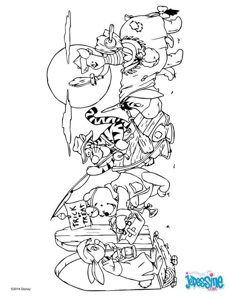 Les 25 meilleures id es de la cat gorie dessin winnie l ourson sur pinterest dessiner winnie l - Winnie l ourson a colorier ...