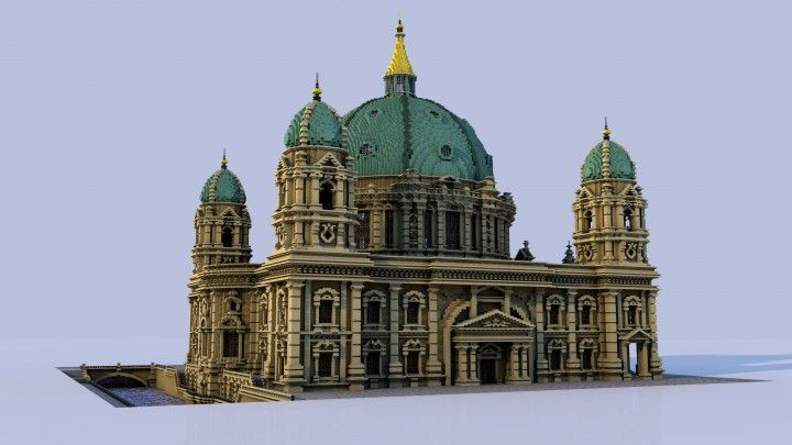 Berlin Cathedral [Berliner Dom] Minecraft Project | Minecraft