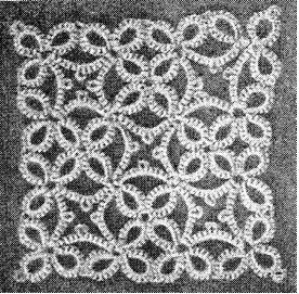 root motive. This would be neat to do in string with a knitting needle to learn needle tatting so I can learn and actually SEE it...
