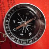 The Chinese invented the early version of the compass in 221-226 B.C. Later on in the 8th century they began using magnetized needles as pointers . Between 850-1050 compasses became a common tool aboard ships.
