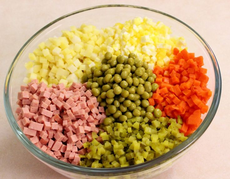 """Russian Salad """"Olivie"""" – Салат """"Оливье"""""""