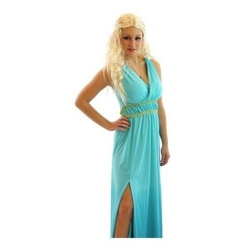 Khaleesi Halloween Costume Blonde Hair Wig Game Of Thrones Daenerys Targaryen