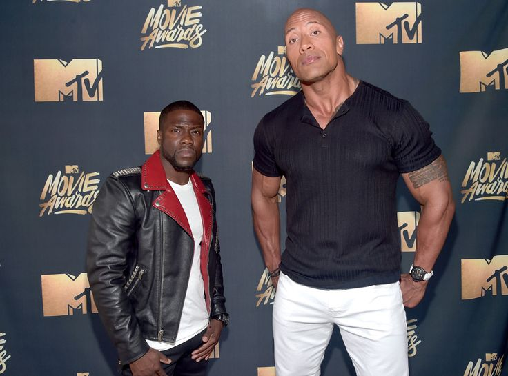 MTV Movie Awards: Why Kevin Hart and Dwayne Johnson Are the Craziest Hosts Ever   E! Online
