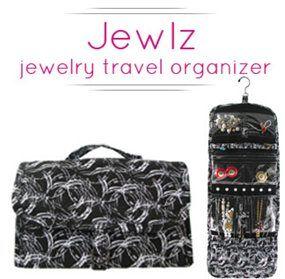Pouchee-Jewlz los organizadores de tu bisutería tanto cuando viajas como en casa!