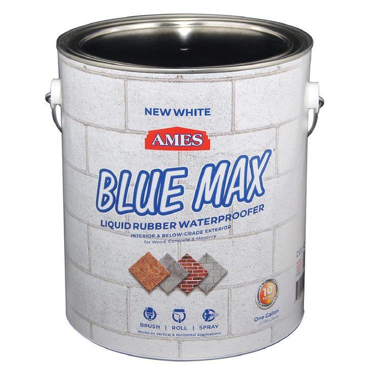 Ames Blue Max 1 gal. White Basement Sealer Regular Grade