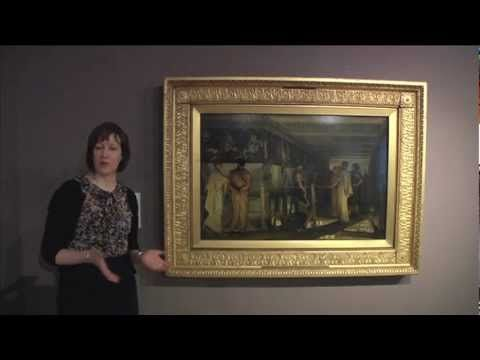 Curator Victoria Osborne talks about 'Pheidias and the Frieze of the Parthenon' by Sir Lawrence Alma Tadema.