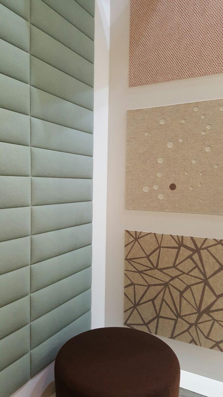 Pannelli stampati o forati in feltro e pannelli tessili acustici a muro Info su http://mktg.mktgsolutions.it