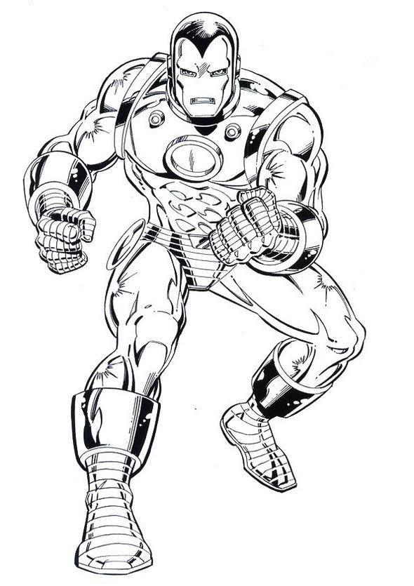 Iron Man Coloring Book To Print Superhero Coloring Pages Superhero Coloring Coloring Pages