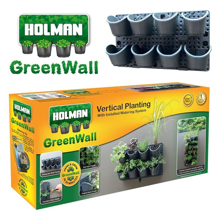 Holman GreenWall Vertical Garden Kit   Bunnings Warehouse $99 At Bunnings